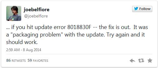 windows 8.1 update无法升级(附带:原因及解决办法)
