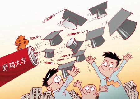 北京中山学院怎么样(野鸡大学误人终生,北京竟有151所)
