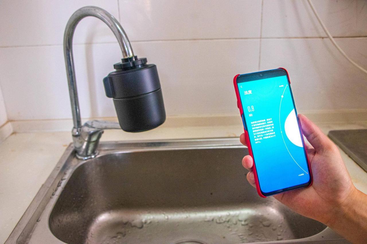 水龙头过滤器评测(一目智能监测龙头净水器体验测评)