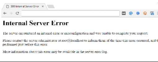 服务器500错误修复