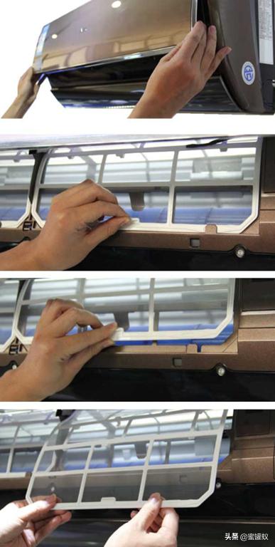 空调过滤网怎么拆下来清洗(空调过滤网拆卸和安装教学)