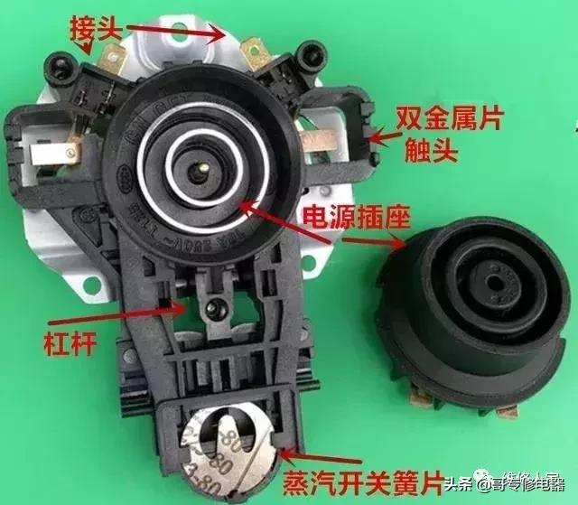 自动上水电热水壶使用原理图(自动电热水瓶电路与维修)