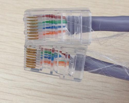 同轴摄像头用网线接法图解(老式摄像头转换网线头教程)