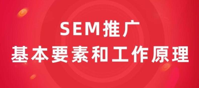SEM推广的基本要素和工作原理
